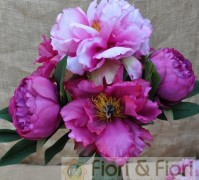 Peonia Queen Artificiale